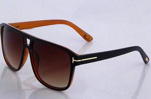 Nuova moda vendita calda Tom designer di marca Ford Occhiali da sole uomo donna acetato TF 211 occhiali da sole UV400 Oculos masculino maschio # 578