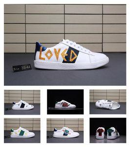 Gucci Ace Fashion Luxury Designer Women Shoes  neuesten Lammfell bestickt Farbabstimmung Campus-Stil Mode Freizeitschuhe, junge Männer und Frauen Designer Schuhe Tennisschuhe