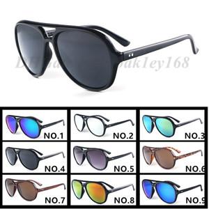 الرجال جودة عالية والنساء 4125 النظارات الشمسية مصمم النظارات الشمسية العلامة التجارية الرجال نظارات شمسية نسائية نظارات شمسية UV400 نظارات حملق