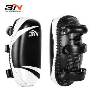 BN de una pieza Kicking Muay Thai Boxing Pads Escudo Focus Target Taekwondo Kickboxing artes marciales Formación Equipamiento DBE