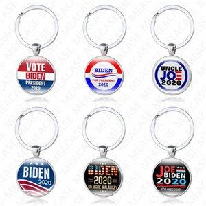JOE Biden president 2020 Keychains Bags Pendant Joe Biden For President Keyring US President Badge Key Chain Vote Keys Holder NEW D7208
