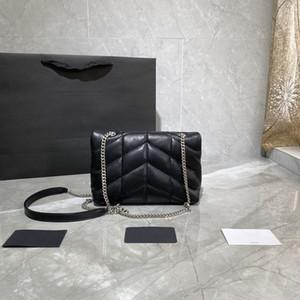 2020 Yeni Geliş LouLou Puffer 620.333 Mini Çapraz Vücut çanta Yumuşak Gerçek Deri Omuz Çantası İçin Kadınlar