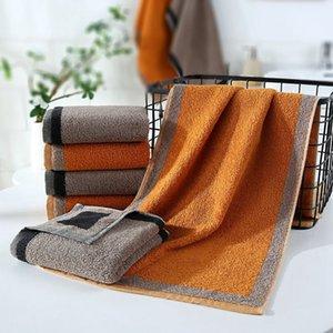 Bamboo Cotton toalha de banho sólida para Adultos Secagem Rápida macia 34 * 75cm Cores Grosso Toalha de Praia alta absorvente antibacterianos