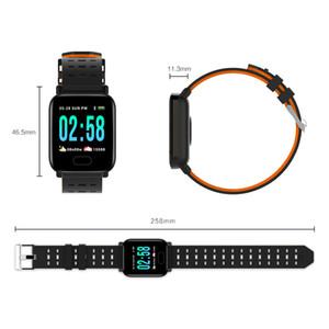 Large color screen smart sport bracelet watch