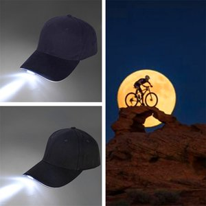Unisex LED Light Cap Luminous Hat With Button Battery Baseball Cap For Outdoor Barbecue Hiking Fishing Sport Men Women Sports Caps New Style