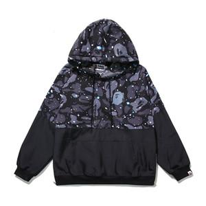 BAPE Mens Stylist Hoodies Mens Casual Jacket com capuz Hoodies Homens Mulheres Pullover Long Sleeve Moletons alta qualidade