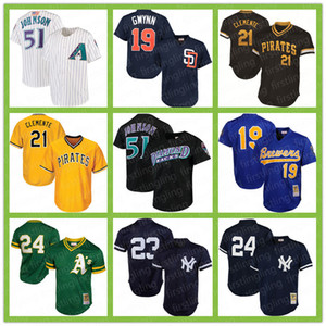 Arizona Randy Johnso Diamondbacks 44 Paul Goldschmidt OAKLAND Rickey Henderson ATLETİZM Pittsburgh Roberto Clemente Pirates Robin Yount