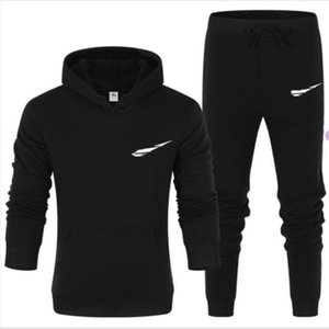 mens designer tracksuit Casual Sweater Men's Sportwear Sweatshirt Without Hoodie Men Casual Active Suit Zipper Outwear 2PC Jacket+Pants