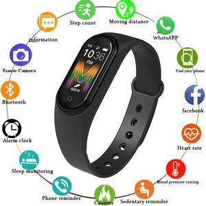 M5 Smart Watch Women Bluetooth Call Music Smart Band Waterproof Heart Rate Blood Pressure Men Health Wristband Smart Bracelet