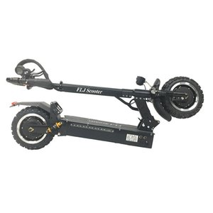 FLJ Adult Electric Scooter with 60V 3200W Strong Power Kick Scooter fat tire big wheel electric scooters adults with Oil Brake