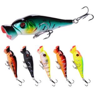 New Big mouth Popper Laser bait 3.4in-8.6cm 11g Freshwater Fishing Floating swimming Likelife baitfish bass lure