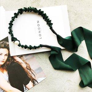 Haarband der 2020 New Quaste Haarreif Neuheit Haar Anzeigetafel für Frauen-Mädchen-süßen Bogen Einfachen Streamer Quaste Stirnband Pandent Haarschmuck
