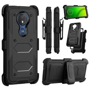 Ibrido 2 in 1 Armatura casi della copertura protettiva della cassa per MOTO Motorola G7 di alimentazione Supra E6 PLUS G7 GIOCO Z4 Forza X4 E5 G5 PLUS E4 PLUS E5 Cruise G6