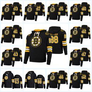 David Pastrnak Boston Bruins Hoodie Jersey Zdeno Chara Patrice Bergeron Brad Marchand Danton Heinen Charlie McAvoy Torey Krug Tuukka Rask