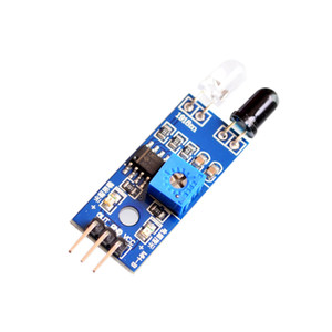 Freeshipping 50 PÇS / LOTE Reflection IR Obstáculo Evitar Módulo Sensor de sensor infravermelho para Aduino robô do carro inteligente