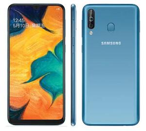 Orijinal Samsung Galaxy A40s 4G LTE Android 6.4 İnç Octa Çekirdek 6GB 64GB 5000mAh Süper hızlı Yüz Cep telefonu şarj yenilenmiş kilidi açık