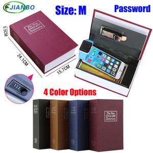 Dizionario Cassaforte libro segreto soldi nascosti di sicurezza Safe Lock Cash Money Coin bagagli Gioielleria password Locker per il capretto regalo SH190929