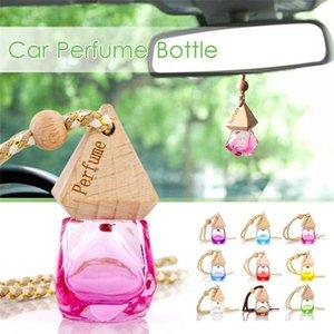6ML Air Freshener Flavoring For Auto Perfume Car Air Freshener Perfume Original Importer Empty Hanging Glass Bottle