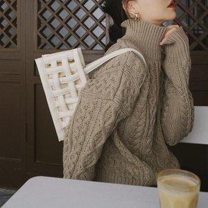 High quality woven bag ladies shoulder bag women bag wallet handbag designer brand new fashion.