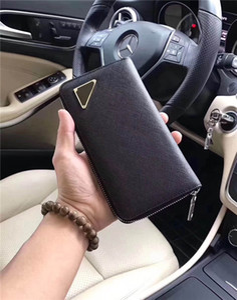 0801 taille 19 cm 10 cm 2.5 cm livraison gratuite dans le monde entier classique rétro style luxe correspondant véritable cuir plus haute qualité portefeuille carte clip