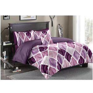 WAZIR Geometric Euro Cotton Bedding Sets Comforter Duvet Cover Pillowcase Bed Set Twin Queen King Size 229*260 3PCS Bedclothes