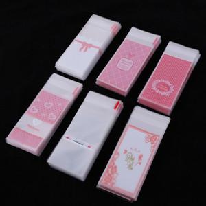 Confezione singola Rossetto Confezioni per borse Donna Rossetti Valvola Borsa Dot Design Pattern Multi stili Sacco trasparente 1 88nt L1