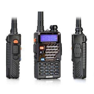 도매 원래 보풍 UV5R 128CH 5W의 VHF / UHF 듀얼 밴드 무전기 UV5R 양방향 라디오