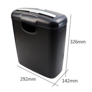 Office için ofis Kağıt Öğütücü Ev Ofis Elektrikli Sessiz Parçalayıcı Mini Ev Kağıt Öğütücü Kesici A6 A4 Katlama Makinası