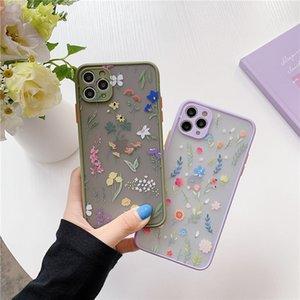 Гладкая кожа текстуры Цветок Цветочные Прозрачный сотовый телефон чехол для Iphone 11 Pro 7 8 плюс хз хз макс XR