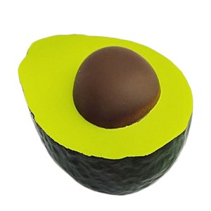 Jumbo Simulation Avocado Squishy Creative PU Soft Squeeze Toy Cream Scented Slow Rising Stress Relief Novelty Fun Toys for Kid