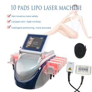 Hot selling 160MW 650nm diode laser lipo laser system fat burning cellulite removal spa salon home machine