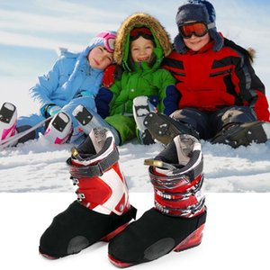 1 pair Ski and snowboard waterproof warm shoe covers snow boots covers protector Ski Snow Cover