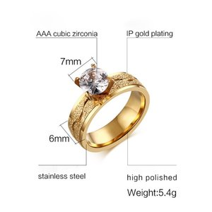 FXM TR37 most popular new arrival fashion single double ring have silver Four claw zircon ring free shipping