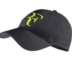 2019 el bordado más nuevo Algodón Nuevo 2018 Malla Sombrero para el sol Gorras de tenis para exteriores Snapback Mujeres y hombres Gorra de béisbol Roger Federer RF Sombrero híbrido