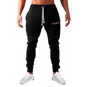 Yeni Erkek Pantolon Casual Erkek Yüksek Kalite Spor Koşu Pantolon Erkek Işın Ayak Sweatpants M-2XL