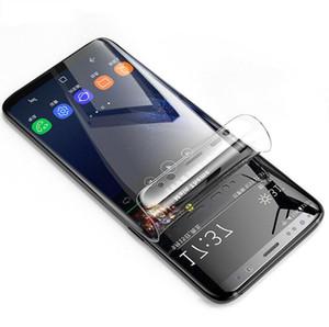 لسامسونج S20 S10 فائق زائد S8 S9 ملاحظة 10 زائد PET لينة الغلاف واضحة وكاملة 6D منحني حامي شاشة السينما