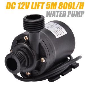 1pcs Ultra Quiet Mini Submersible Water Pump Lift 5M 800L H DC12V Home Garden Brushless Motor Waterproof Water Pump