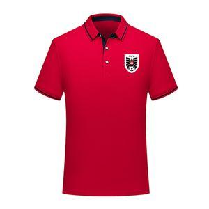 Designer Austria national team mens Soccer polo shirt Sport Polo football polos summer Soccer Short Sleeve hoodie POLOs T-Shirt Jerseys Men