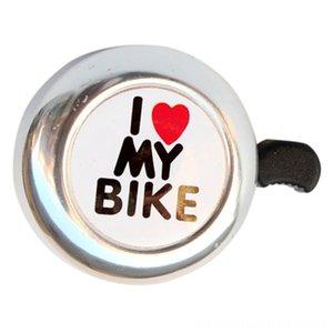 Bicycle Ring Accessories Bell Heart Alarm Bike Metal Ultra Loud Handlebar HornColor Silver Cycling Ring Bicycle Accessories Cycling Bell Hea