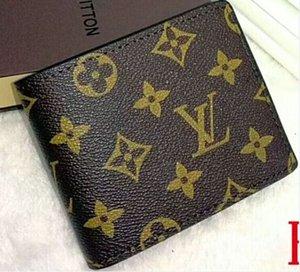 2020 New Designers Card Fashion Porte-monnaie Livraison gratuite les femmes Billfold Motif Plaid femmes Wallet Hommes Pures Wallet