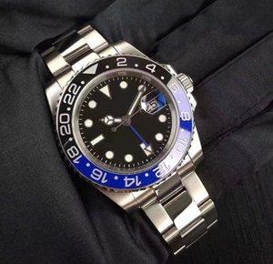Guarda maschio 2813 orologio sportivo subacquea anello meccanico data cintura in acciaio moda 40mm Automatic ceramic mouth New impermeabile uomo qbtoc