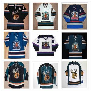 Özel AHL Manitoba Moose Vancouver Canucks 25 Morin 38 Tremblay 23 Warriner 33 Michaud 28 Bernier 15 Kavanagh Hokeyi Formalar Dikişli
