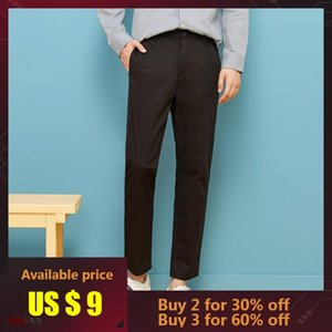 Metersbonwe Smart Casual Pants Men Brand-clothing Spring Autumn Simple Solid Trousers Male High Quality Stretch Slim Fit Pants