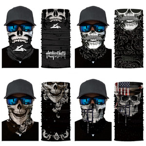 Multi Wear Headband Bandanas Tube Shape Army Camo Military Magic Sports Face Mask Neck Warmer Skull Scarf Hair Accessories #618#794
