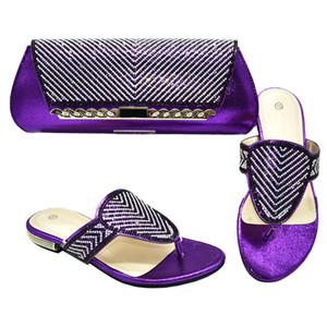 New Shoes italiani con i sacchetti di corrispondenza Partito africano di alta qualità di calzature e borse set di modo delle donne di nozze Italiano Pompe con borsa