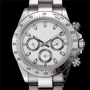 Роскошные часы мужские часы Work 6-pin Watch Мужские спортивные наручные часы из нержавеющей стали.