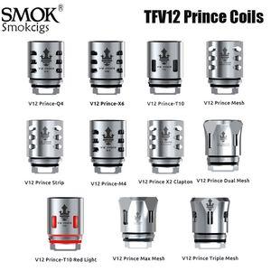 SMOK TFV12 Prince Coil V12 Prince RBA Q4 M4 X6 T10 сетки Dual Mesh Ядро для TFV12 PRINCE Tank Eletronic сигарет сердечников Аутентичные