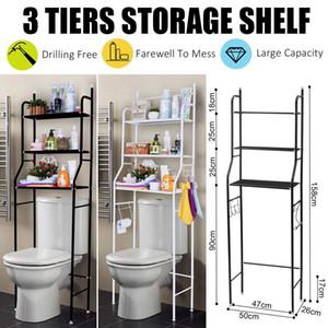 3 Tier Regal über Home Küche Badezimmer Storage Rack Multifunktions-Toiletten Regale für das Badezimmer Organizer Zubehör SH190920
