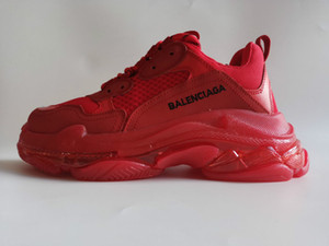 02 Novos Designers Paris Triple S 3.0 para homens mulheres sapatilhas 17FW preto Para as mulheres Low Top Flat Shoes Casual Limpar Sole