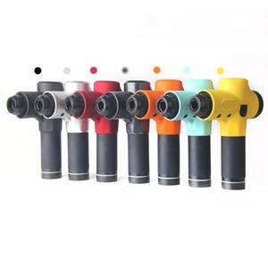 Pistola de masaje miofascial fisioterapia Instrumento Silencio Toque el botón de la pantalla Fascia pistola Relax eléctrica de la deformación de la película Impacto Pistola